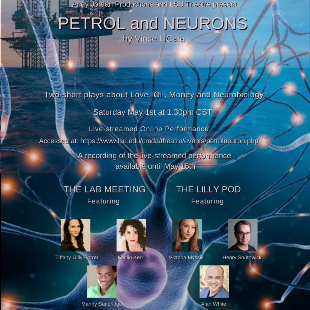 Flyer for Petrol and Neurons